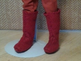 #Doll Boots #Sewing Pattern and #DIYTutorial