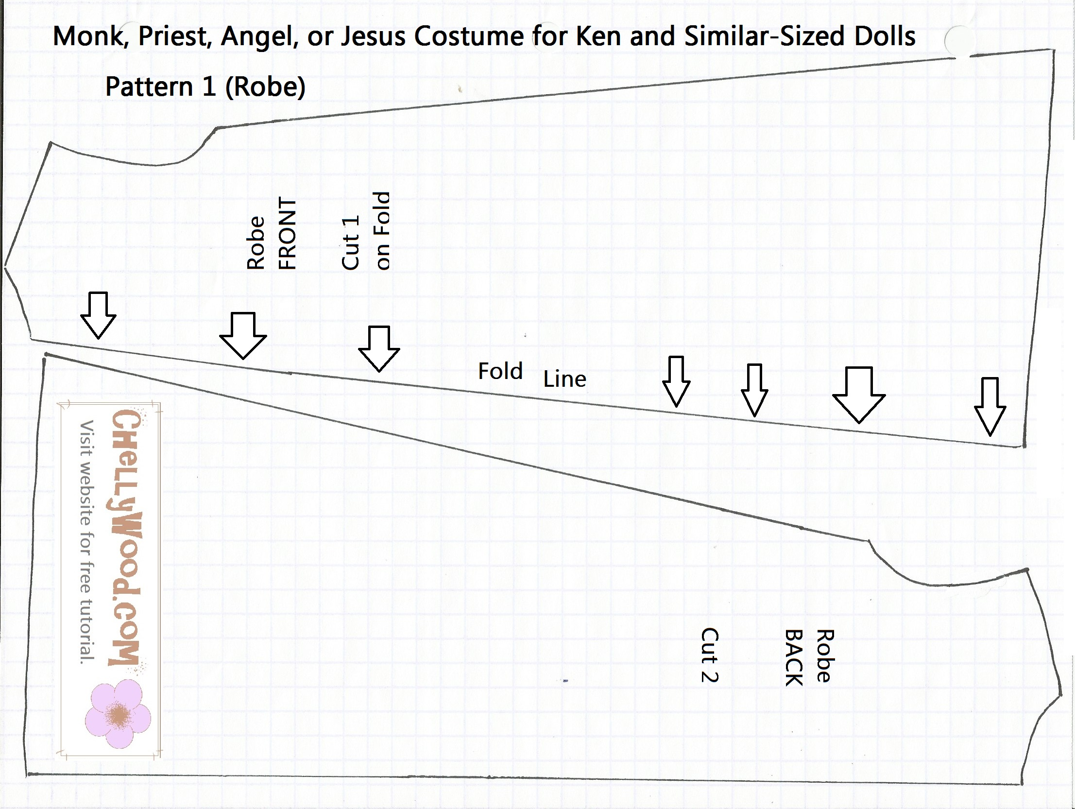 Free Printable Barbie Doll Clothes Patterns Chellywood Com