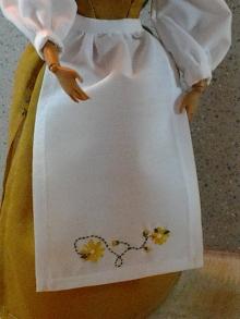 Image of an Apron Designed for Barbie Dolls