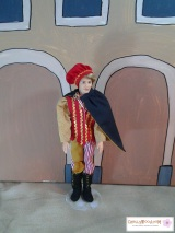 Vest Pattern for Ken #Dolls Is Free to Print (Great for #Western Outfits or GroomCostumes)