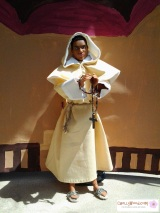 Friar Lawrence's Robe #SewingPattern (Also Works for #Angels, #Jesus, Priests,etc…)