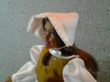 How to Make a #Pilgrim Bonnet for#Dolls