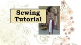 Tutorial for #Sewing a #Harlequin or #Musketeer Tunic forBarbie