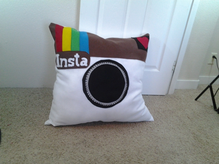 Photo of Large Instagram Pillow