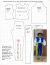 Royalty-free image of printable doll clothes pattern to fit World of Love dolls