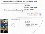 #Barbie Coat #Pattern Free to Download(Printable)