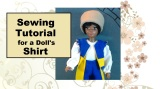 Make Sewing #Crafts for Your #Dollhouse Sized Doll or #BreyerHorseDoll