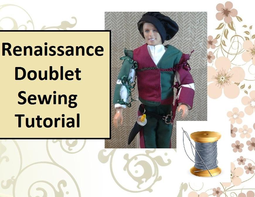 Header showing Ken doll in Renaissance Doublet