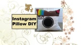 As promised, here's my #tutorial for making an Instagram #pillow. #handmade
