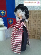 Create a #Crafty #Renaissance Costume for Your #Vintage TammyDoll