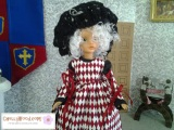 #Antique #TammyDoll from #Ideal has Free Sewing Pattern @ ChellyWood.com
