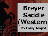 #14: How to Make a Breyer #Horse #Western #Saddle @ ChellyWood.com