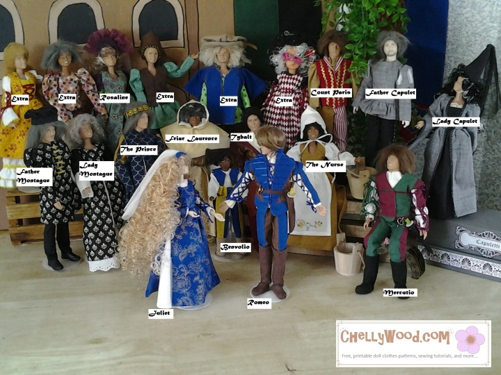 Barbie Doll Cast of Romeo and Juliet