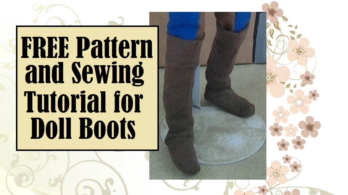 6fc1dcaf7aa Sew a Pair of  Renaissance or  Pirate Boots for  Dolls w  a Free ...