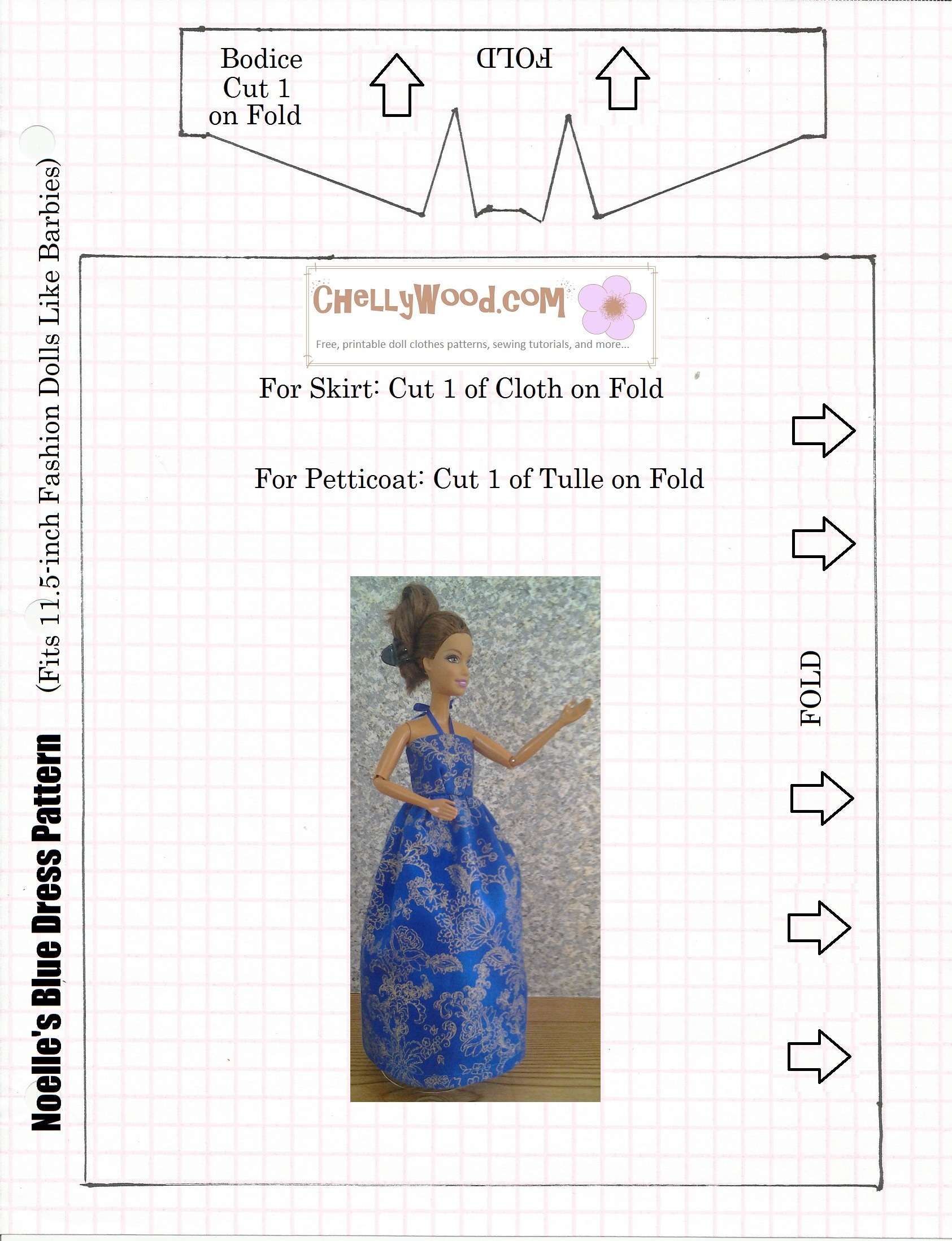 photo about Free Barbie Clothes Patterns Printable identify Barbie Apparel Layouts Absolutely free Doll Apparel Styles