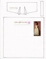 Sew a Lace Negligee for Your #FashionDolls With This Free #Sewing #Pattern