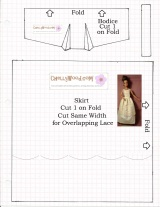 How to #Design #Sewing Patterns (Bodice Portion) for #Dolls