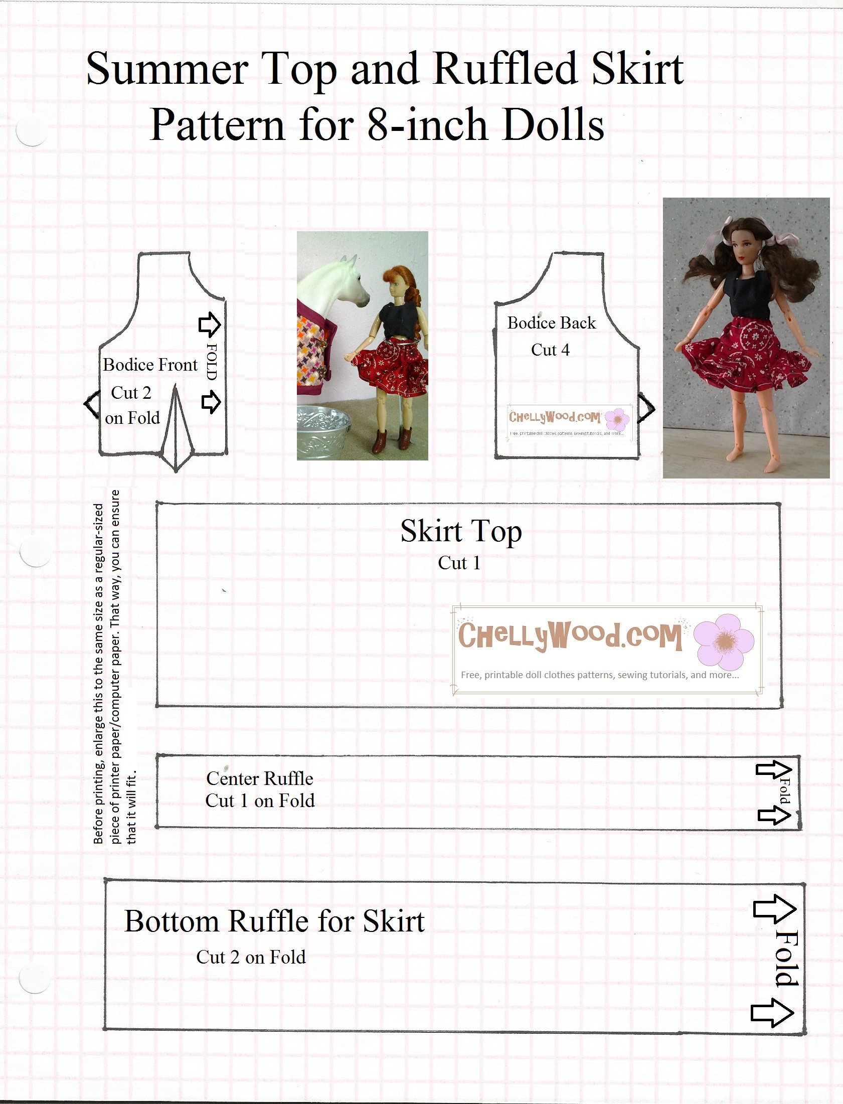 photograph about Free Printable Ken Doll Clothes Patterns identified as Each day Designs Cost-free, printable doll dresses sewing