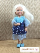 Click on this link to find all the patterns and tutorials you need to make this dress: https://chellywood.com/2016/08/30/easy-sewing-project-for-kids-diy-chelsea-dress/