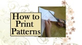 How to Download and Print Free #Sewing Patterns From ChellyWood.com #Crafty#Dollstagram