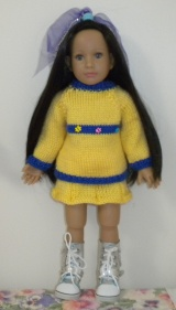 Free #Knitting Patterns for #AmericanGirl Dolls and Other 18-inch #Dolls!