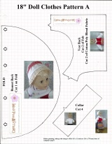 First of 4 FREE #Sewing #Patterns to Make a Long-Sleeved, Collared Shirt for 18-inch #Dolls