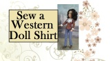 Sew a #Western Shirt for #Breyer, Stacie, or Other 8″ Dolls @ ChellyWood.com w/FREE #SewingPatterns