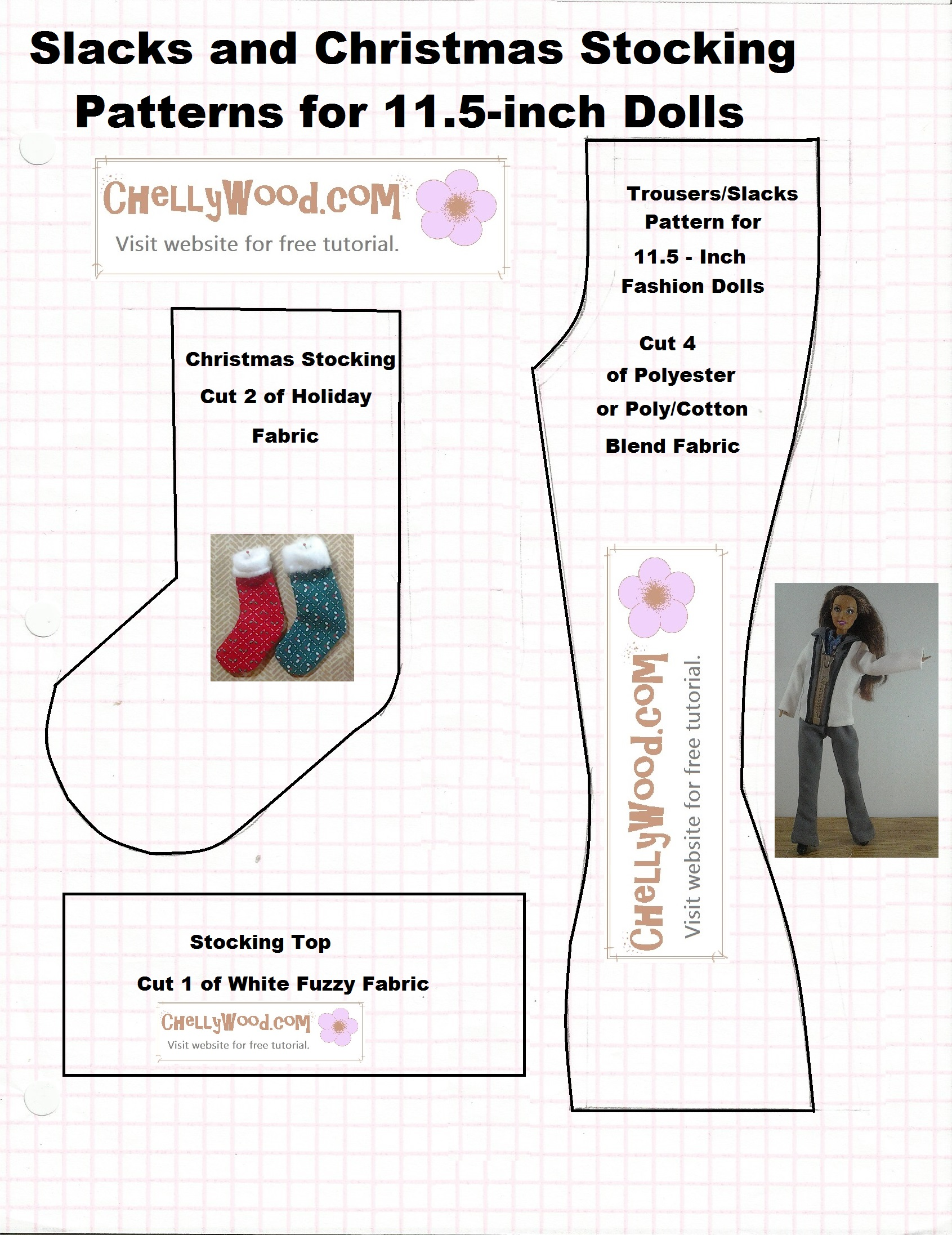 photograph about Printable Stocking Patterns titled Practice for developing a #miniature #vacation #stocking is no cost