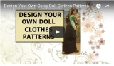 Design your own #CurvyBarbie #dolls skirt w/ a tutorial @ ChellyWood.com