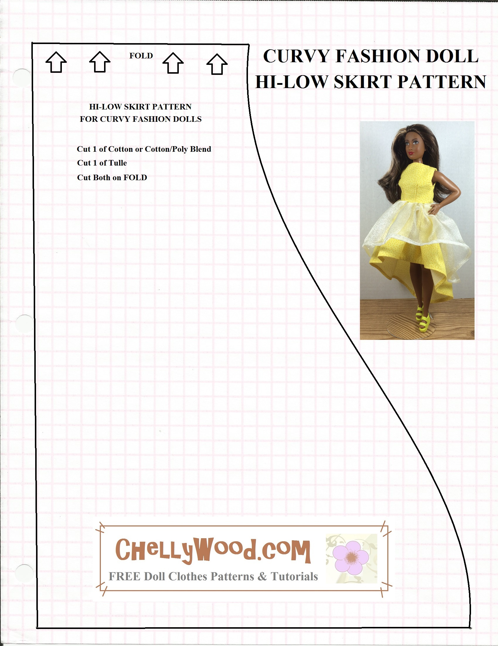 It's just a picture of Free Printable Barbie Clothes Sewing Patterns within vintage 1950 doll clothing