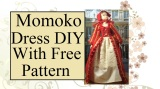 Free Sewing Pattern fits #MomokoDoll, #BlytheDoll, and #PullipDoll @ChellyWood.com