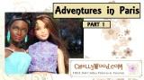 Petite #Barbie ™ takes a #vacation to #Paris @ChellyWood.com
