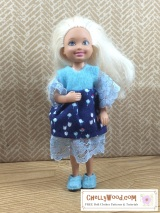 Tiny #ChelseaDoll has free #sewing #patterns atChellyWood.com
