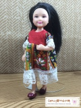 Sew an #EasyDIY #dolls' dress for Mattel's #Chelsea™ with a free pattern @ChellyWood.com
