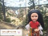 #DIY #miniature #dolls' dress w/ free pattern @ChellyWood.com