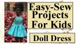 Kids #Sew: Make a #Dolls Dress w/ Free #Fashionistas Pattern