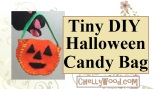 Make a #Crafty #Halloween #Pumpkin Candy Bucket or Bag
