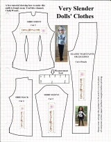Free #sewing pattern for #ProjectMC2 #Dolls @ChellyWood.com