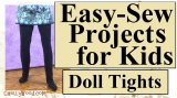 #DIY #Tights for Fashion #Dolls