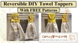 Here's how to make a tea towel #DIY #FridayFreebie #project