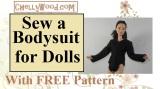 How to sew a #bodysuit for #fashiondolls like #Barbie®