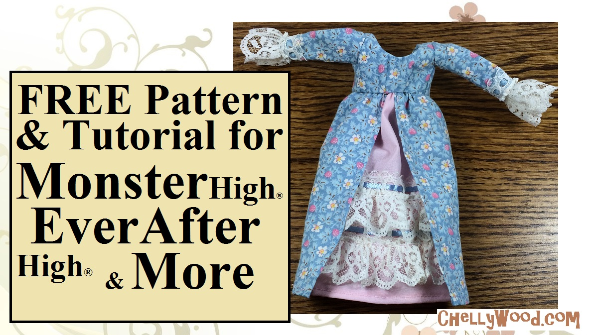 Everafterhigh Or Monsterhigh Clothes Sewing Patterns Free