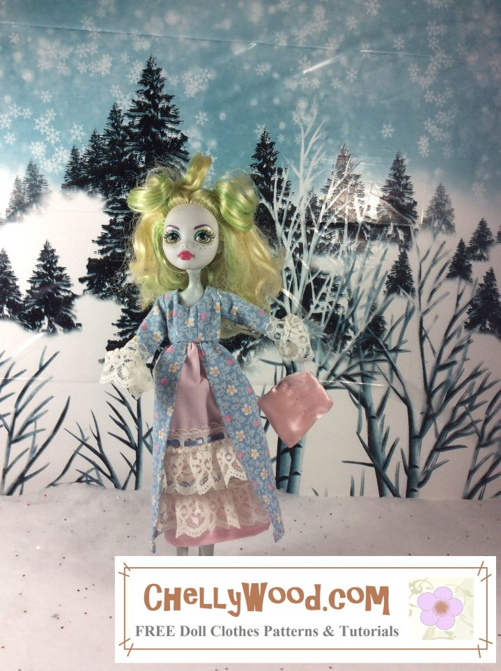 Monster High Free Doll Clothes Sewing Patterns