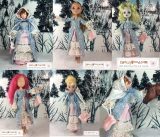Small #Dolls' pioneer outfit #patterns are free @ ChellyWood.com #dollstagram