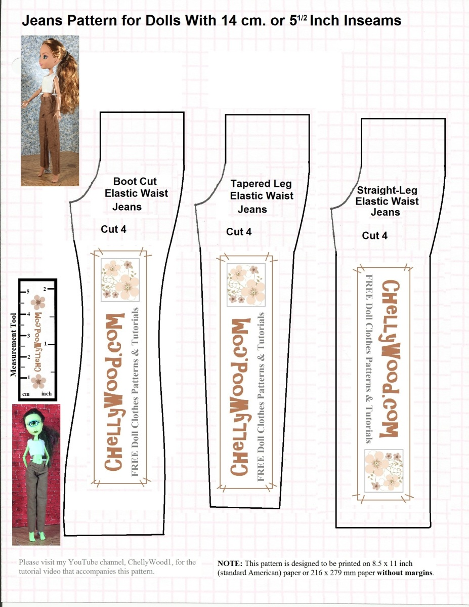 Free Sewing Patterns For Monsterhigh Doll Clothes