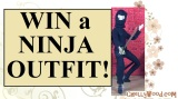 Win a #Ninja outfit for your #Barbie @ ChellyWood.com #Dollstagram