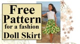 #StPatricksDay skirt pattern is free @ ChellyWood.com #crafty #dolls