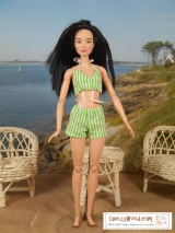 #Barbie® #Retro swimsuit for #DIY @ ChellyWood.com
