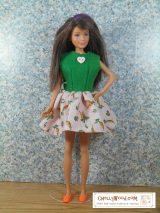 Easy #DIY #Easter dress for #Dolls w/FREE patterns @ ChellyWood.com