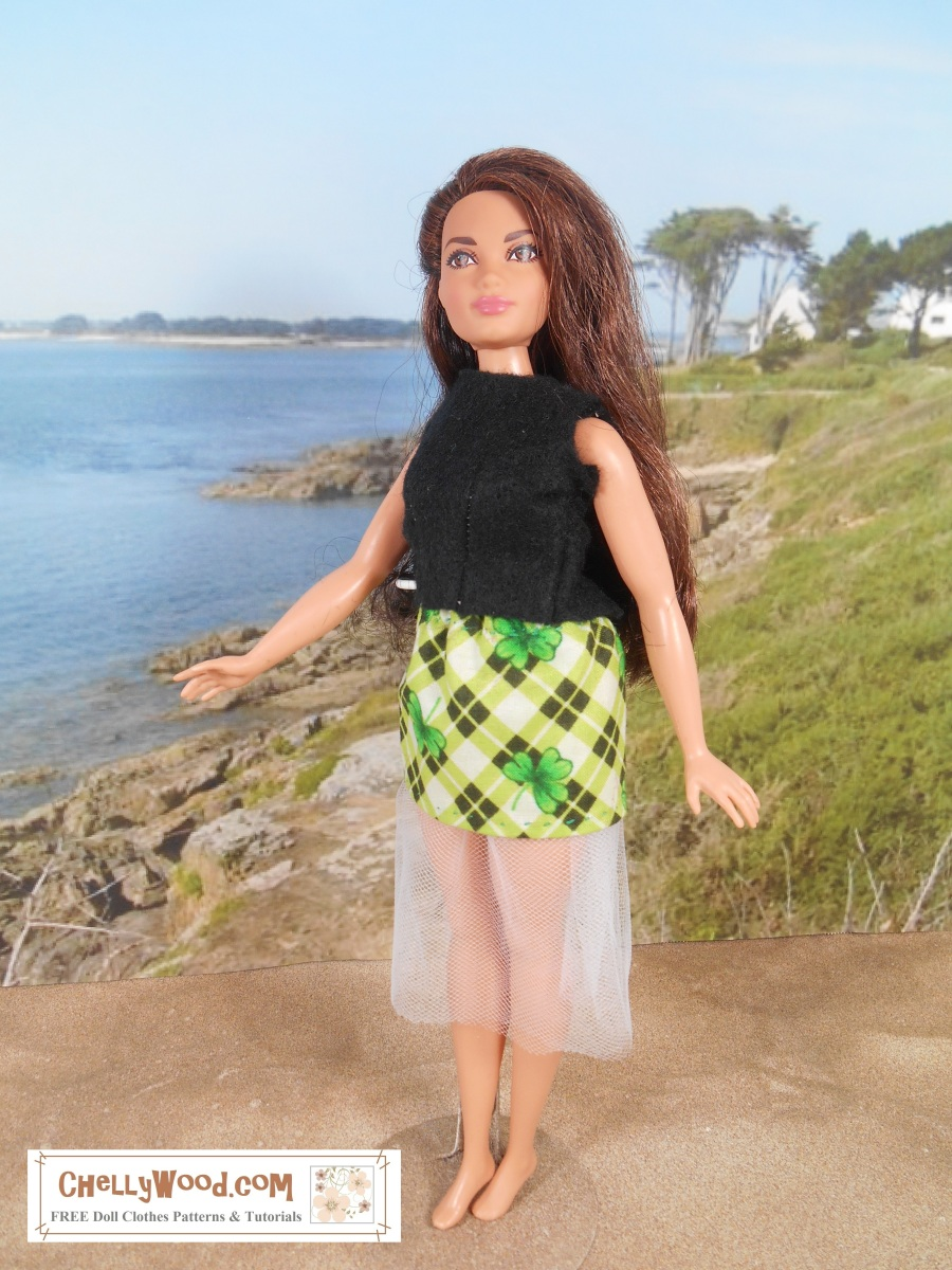 Easy Sewing Projects For Kids Curvybarbie Outfit W